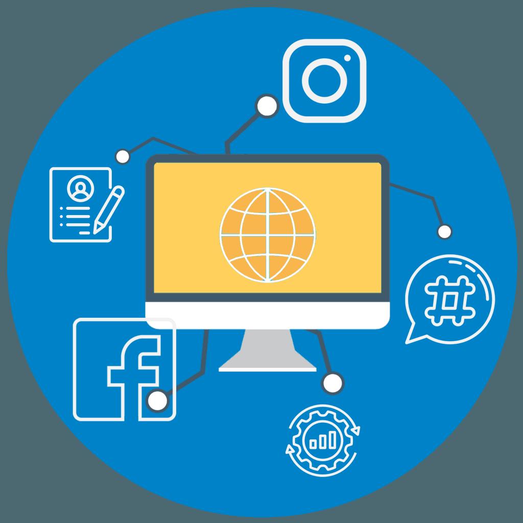 Social media Brand Building image
