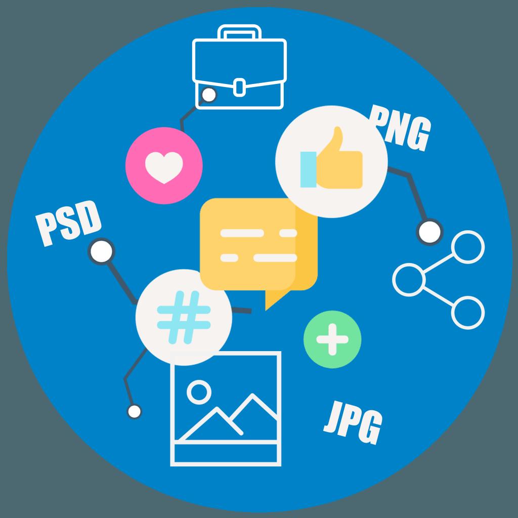 Social media - Business image