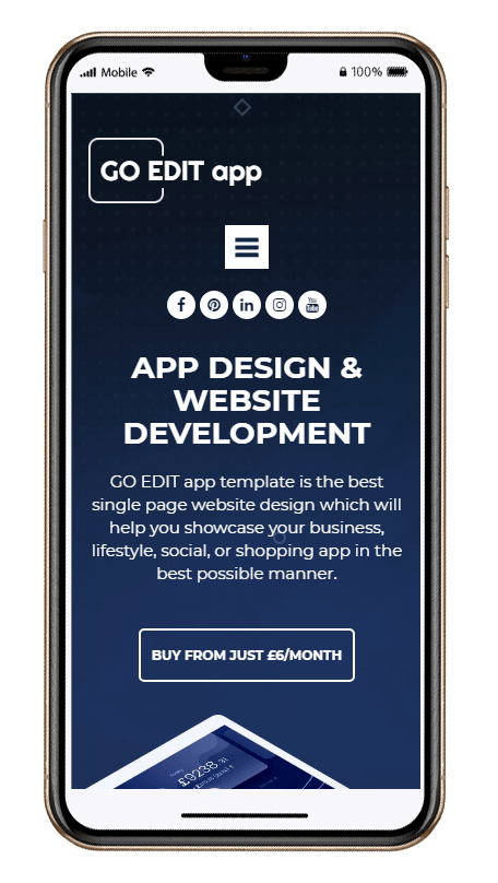 Fully Responsive Mobile Device