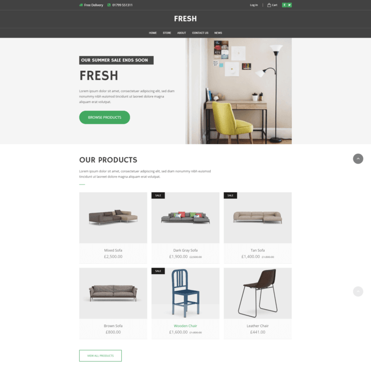 Fresh-ecommerce-template